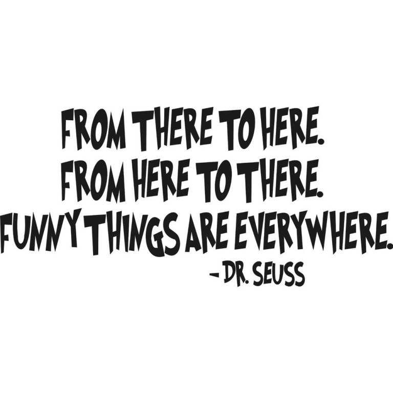 1-pcs-font-b-Dr-b-font-Seuss-FROM-THERE-TO-font-b-HERE-b-font